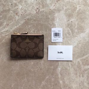 Coach Skinny Keychain Wallet